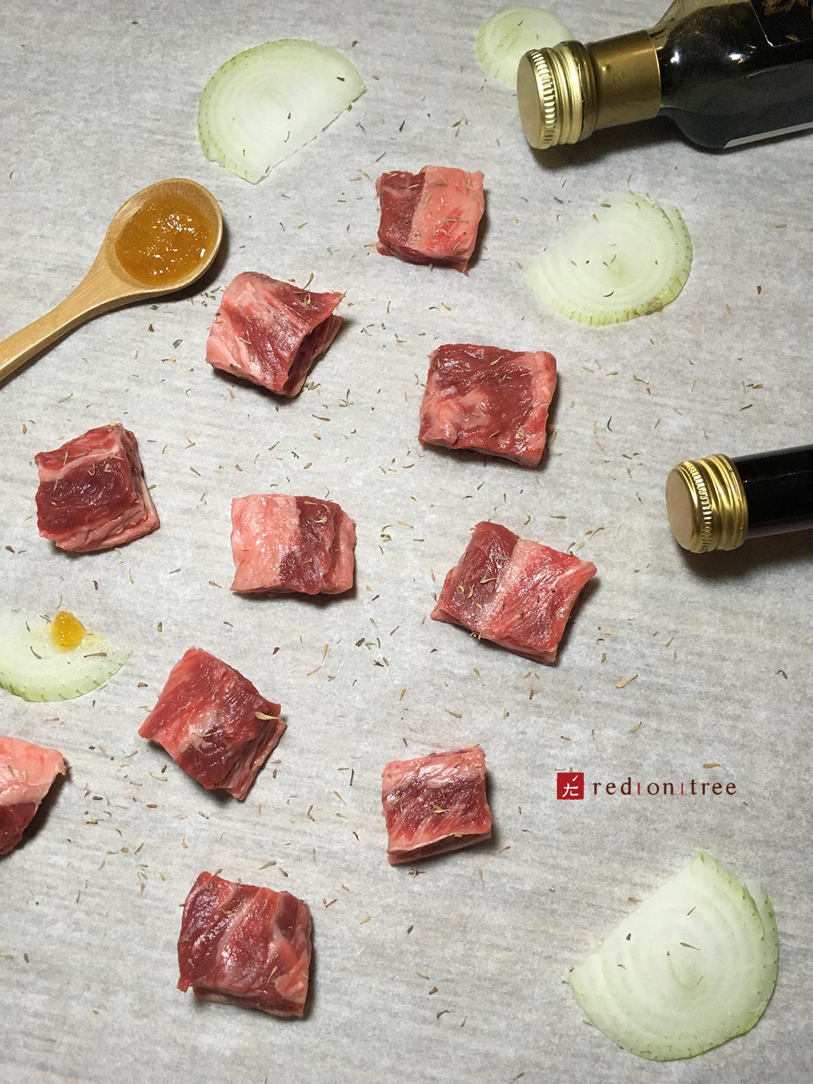 牛肉好吃在油花 茂谷好吃在酸甜
